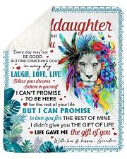 Never Forget That I Love U GM To Granddaughter Sherpa Fleece Blanket tile