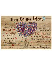 Bonus Mom Thanks For Loving Me As Your Own 17x11 Poster front