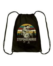 Stepdadsaurus Drawstring Bag thumbnail