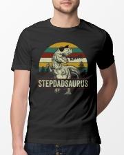 Stepdadsaurus Classic T-Shirt lifestyle-mens-crewneck-front-13