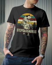 Stepdadsaurus Classic T-Shirt lifestyle-mens-crewneck-front-6