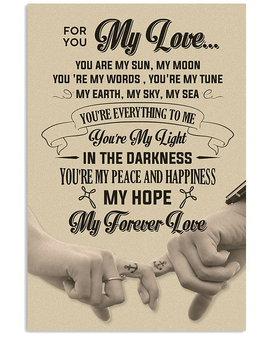 For You My Love 11x17 Poster