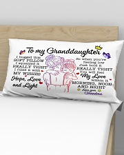 Granddaughter Hold It You'll Feel MyLove Within In Rectangular Pillowcase aos-pillow-rectangular-front-lifestyle-02