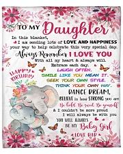 """In This Blanket Im Sending LotsOf Love To Daughter Fleece Blanket - 50"""" x 60"""" front"""