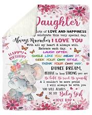 In This Blanket Im Sending LotsOf Love To Daughter Sherpa Fleece Blanket tile
