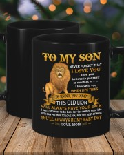 Never Forget That I Love You Mom To Son  Mug ceramic-mug-lifestyle-18