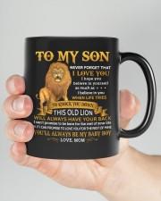 Never Forget That I Love You Mom To Son  Mug ceramic-mug-lifestyle-26