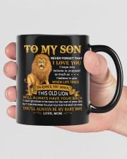 Never Forget That I Love You Mom To Son  Mug ceramic-mug-lifestyle-40