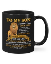 Never Forget That I Love You Mom To Son  Mug front
