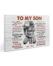 When Life's Troubles Try To Scare U Dad To Son Gallery Wrapped Canvas Prints tile
