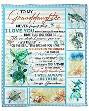 """Never Forget That I Love You-Turtle GM To GD Fleece Blanket - 50"""" x 60"""" front"""