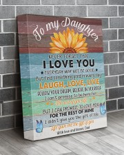 Never Forget That I Love You Dad To Daughter 11x14 Gallery Wrapped Canvas Prints aos-canvas-pgw-11x14-lifestyle-front-12
