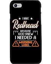 God Knew I Needed A Warning Label Phone Case thumbnail