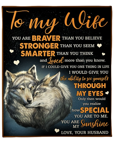 To My Wife You Are My Sunshine