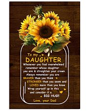 U Are Braver Than U Think Dad To Daughter 11x17 Poster thumbnail