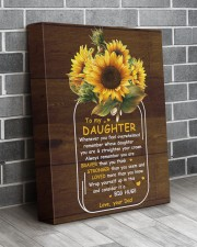 U Are Braver Than U Think Dad To Daughter 11x14 Gallery Wrapped Canvas Prints aos-canvas-pgw-11x14-lifestyle-front-12