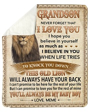 Never Forget That I Love You-Young Lion GM to GS Sherpa Fleece Blanket tile