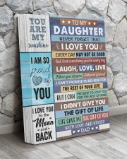 Never Forget That I Love U Dad To Daughter 11x14 Gallery Wrapped Canvas Prints aos-canvas-pgw-11x14-lifestyle-front-13