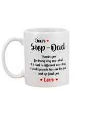Thank You For Being My Step-Dad Mug back