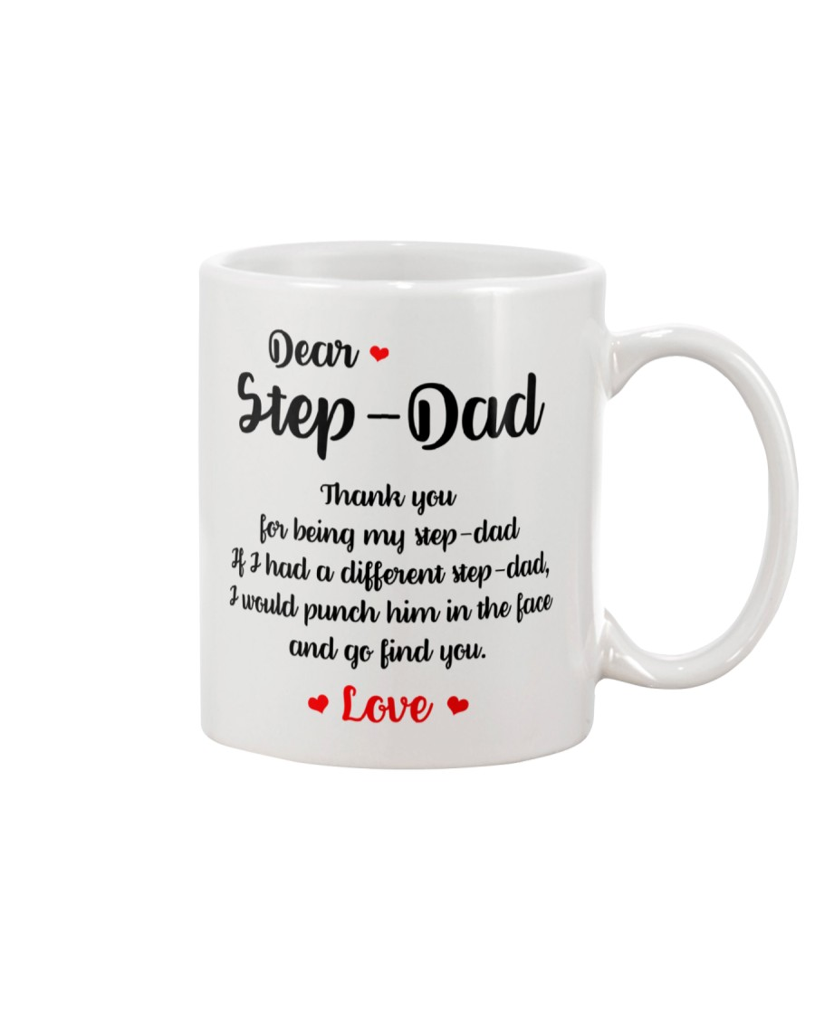 Thank You For Being My Step-Dad Mug