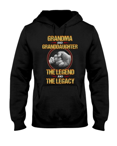 Grandma Granddaughter The Legend The Legacy