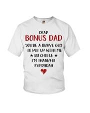 Dear Bonus Dad Youth T-Shirt thumbnail