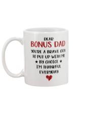 Dear Bonus Dad Mug back