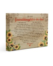 Granddaughter-In-Law We Both Love The Same man 14x11 Gallery Wrapped Canvas Prints thumbnail