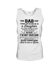 Thanks For Valuing Me As A Daughter Unisex Tank thumbnail
