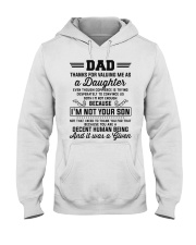 Thanks For Valuing Me As A Daughter Hooded Sweatshirt thumbnail