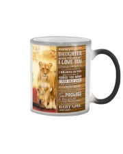 Lion- Never Forget That I Love You Mom-To-Daughter Color Changing Mug thumbnail