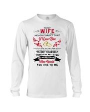 To My Wife Long Sleeve Tee thumbnail