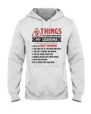 5 Things You Should Know About My Grandma Hooded Sweatshirt thumbnail
