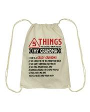 5 Things You Should Know About My Grandma Drawstring Bag thumbnail