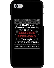 Happy Christmas Day To My Amazing Step-dad Phone Case thumbnail