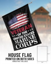 """Veteran Of The United States Marine Corps 29.5""""x39.5"""" House Flag aos-house-flag-29-5-x-39-5-ghosted-lifestyle-01"""