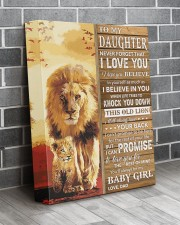 Lion- Never Forget That I Love You Dad-To-Daughter 11x14 Gallery Wrapped Canvas Prints aos-canvas-pgw-11x14-lifestyle-front-12