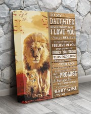 Lion- Never Forget That I Love You Dad-To-Daughter 11x14 Gallery Wrapped Canvas Prints aos-canvas-pgw-11x14-lifestyle-front-13