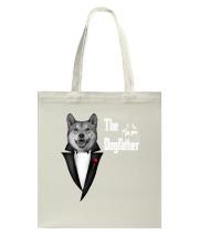 The DogFather Akita Tote Bag thumbnail