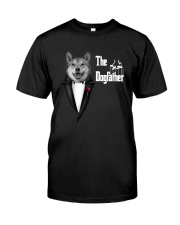 The DogFather Akita Classic T-Shirt front