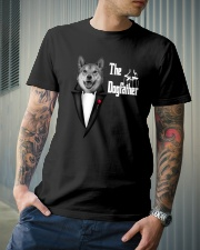 The DogFather Akita Classic T-Shirt lifestyle-mens-crewneck-front-6