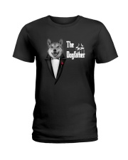 The DogFather Akita Ladies T-Shirt thumbnail