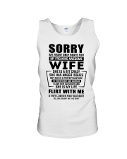 My Heart Only Beats For My Freakin Awesome Wife Unisex Tank thumbnail