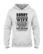 My Heart Only Beats For My Freakin Awesome Wife Hooded Sweatshirt front