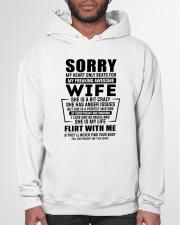 My Heart Only Beats For My Freakin Awesome Wife Hooded Sweatshirt garment-hooded-sweatshirt-front-03