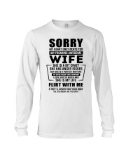 My Heart Only Beats For My Freakin Awesome Wife Long Sleeve Tee thumbnail