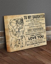 Never Feel That U Are Alone Dad To Daughter 14x11 Gallery Wrapped Canvas Prints aos-canvas-pgw-14x11-lifestyle-front-10