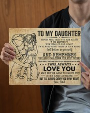 Never Feel That U Are Alone Dad To Daughter 14x11 Gallery Wrapped Canvas Prints aos-canvas-pgw-14x11-lifestyle-front-23