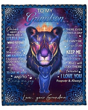 """Once Upon A Time Wolf Grandma To Grandson Fleece Blanket - 50"""" x 60"""" front"""