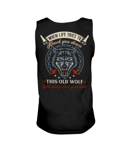 Old Wolf Will Always Have Your Back